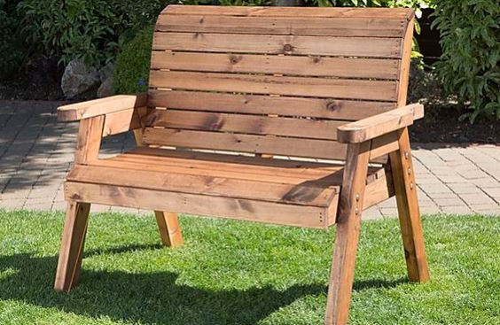 Garden Furniture Two Seater Bench
