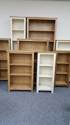 Oak Bookcase 190 x 45 cm's