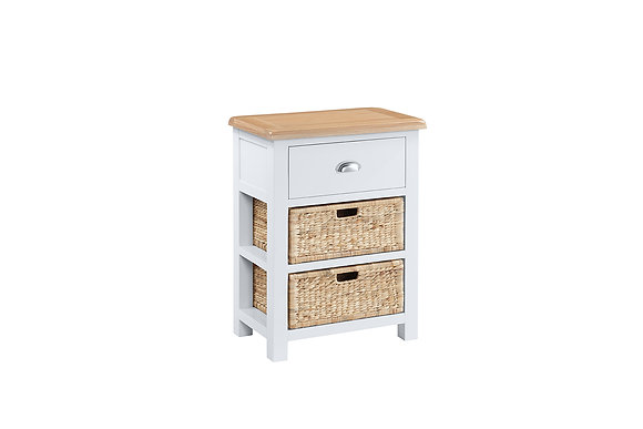 Berkshire Console 1 Drawer 2 Baskets