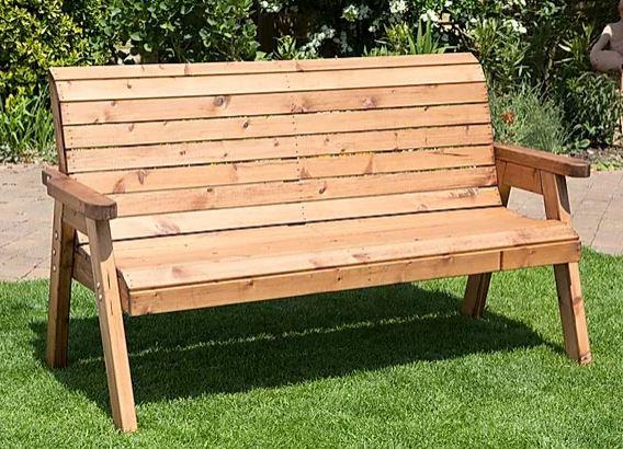 Garden Furniture Three Seater Bench