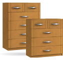 Capri 4 + 2 Drawer Chest
