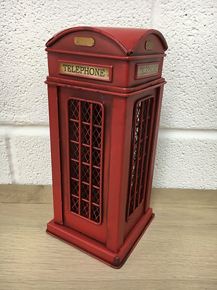 Classic Phone Box Money Box