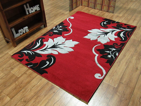 Vibe 2527 Red 120 x 170 Rug