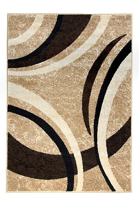 Diamond 5054 Beige Brown 80 x 150 Rug