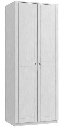 Sienna Tall 2 Door Robe - White