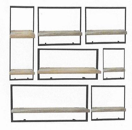 Artisan Occasionals Wall Shelf - set of 7