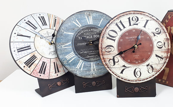 Table Clock - 3 designs