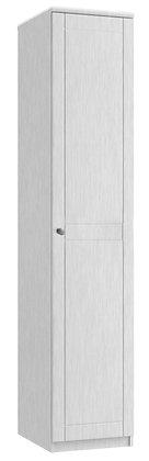 Sienna Tall 1 Door Robe - White