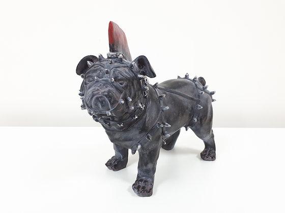 Punk Dog Ornament