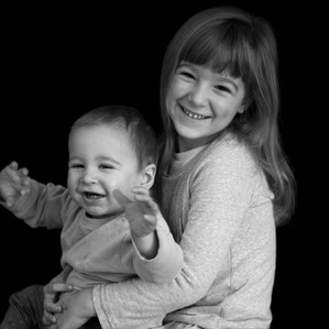 childrens portraits, black and white, essex, suffolk