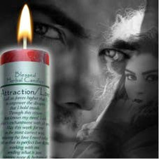 Candle Love and Attraction