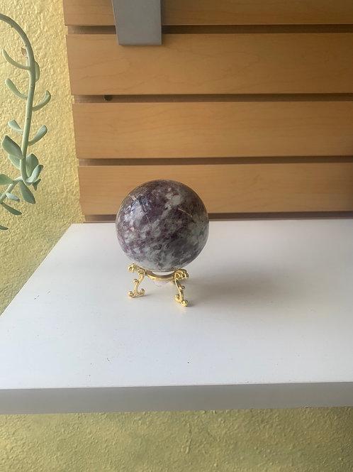 Tourmaline Sphere, 3.3 lbs