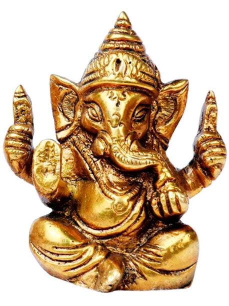 Ganesha- Brass