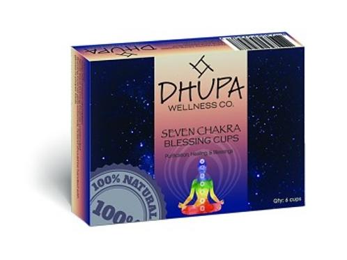 Incense Cup- Seven Chakras