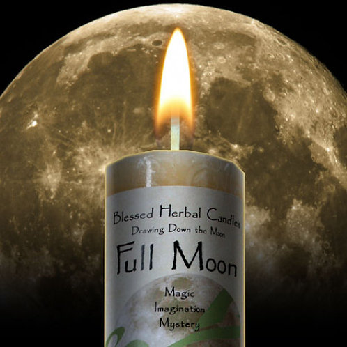 Candle- Full Moon