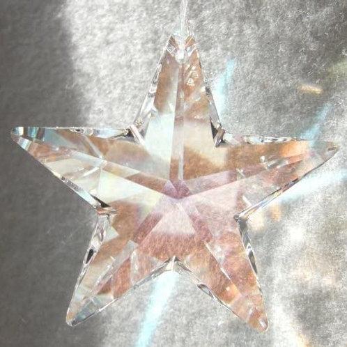 Sun Catcher Star Crystal