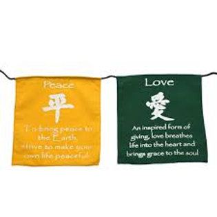 Tibetan Prayer Flag - 6 Wishes