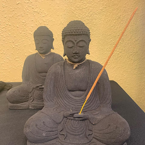 Budda Statue - Volcanic Stone