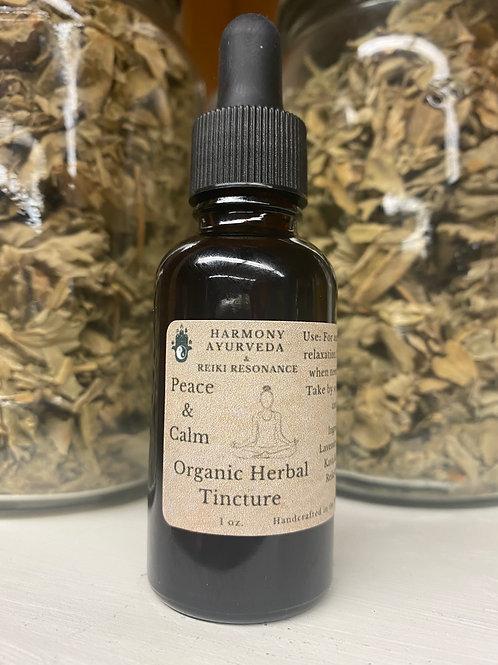Peace & Calm Herbal Tincture 1 fl oz