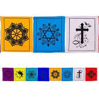 Tibetan Prayer Flags - Multi Faith
