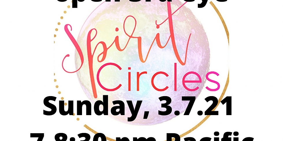 Spirit Circle to develop Psychic Abilities