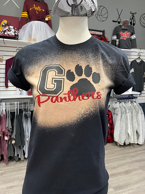 Go Panthers Bleach Shirt
