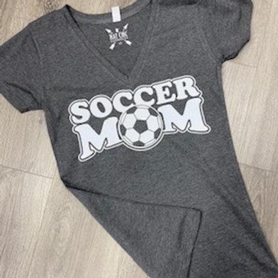 Soccer Mom V-neck Short Sleeve