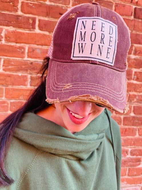 Need More Wine Trucker Hat