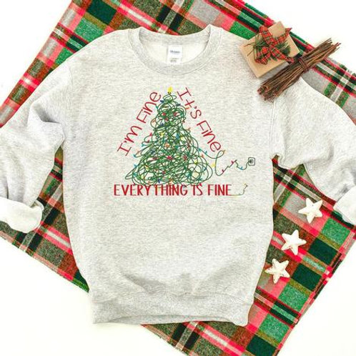 Everything is Fine Cozy Crew
