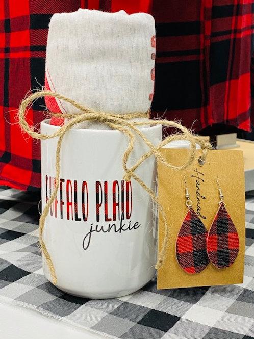 Buffalo Plaid Gift Set