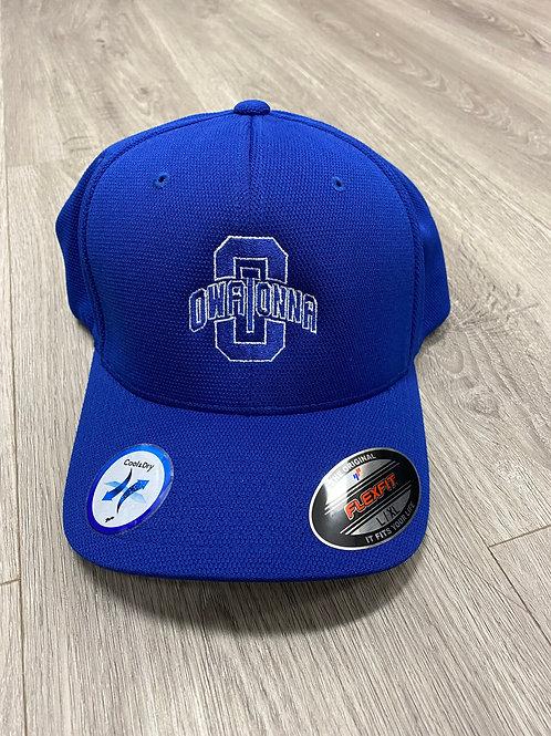Curved Owatonna Flexfit Hats