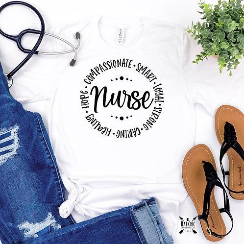 White Nurse Tee