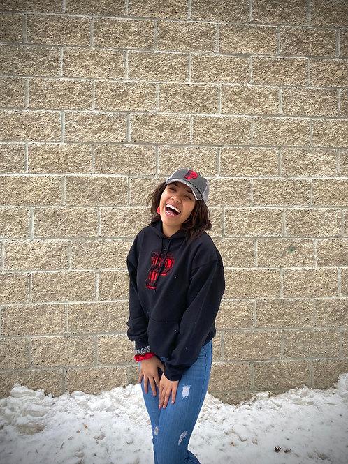 Panthers Gildan Hooded Sweatshirt