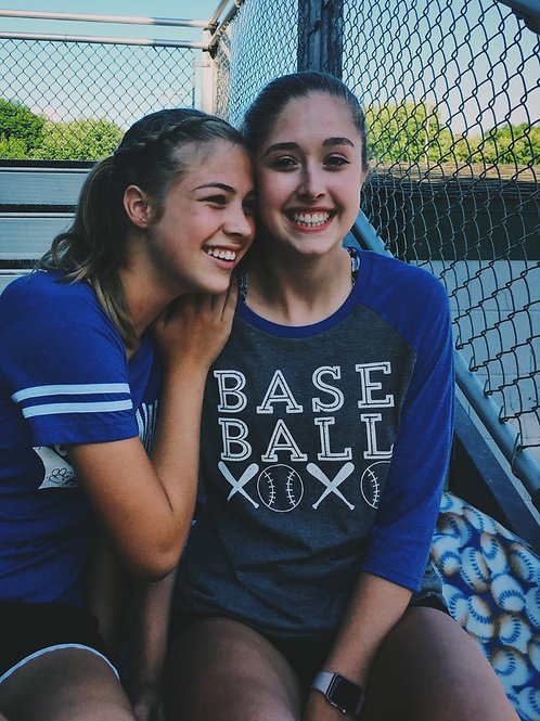 Baseball 3/4 tee