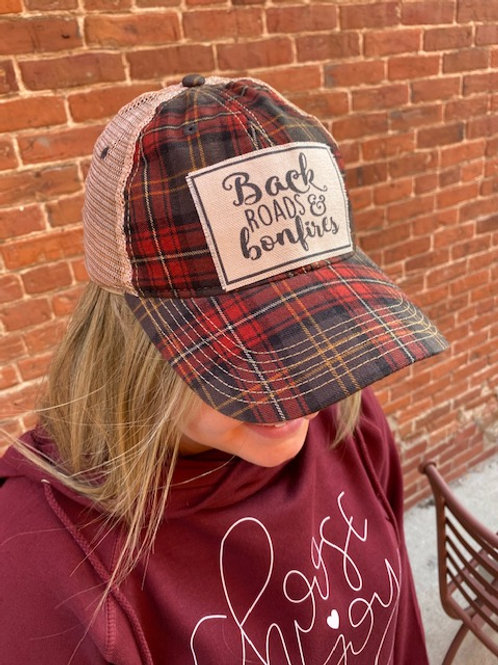 Backroads and Bonfires Trucker Hat