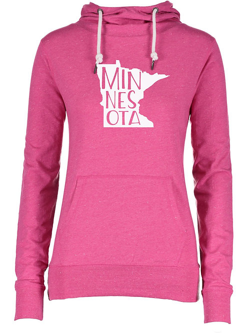 Pink Minnesota Hoodie