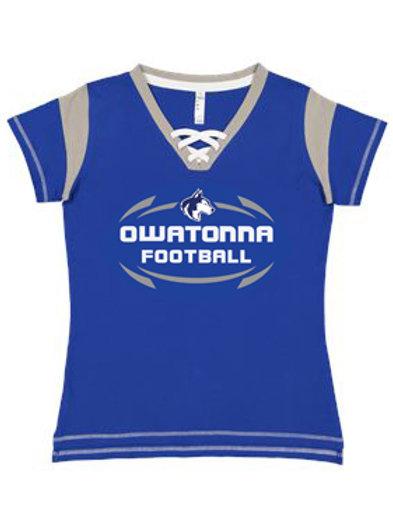 Women's Football Tee