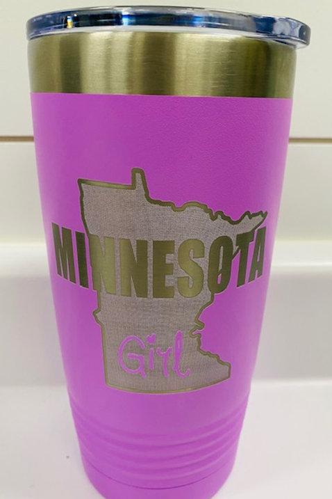 Minnesota Girl Travel Mug