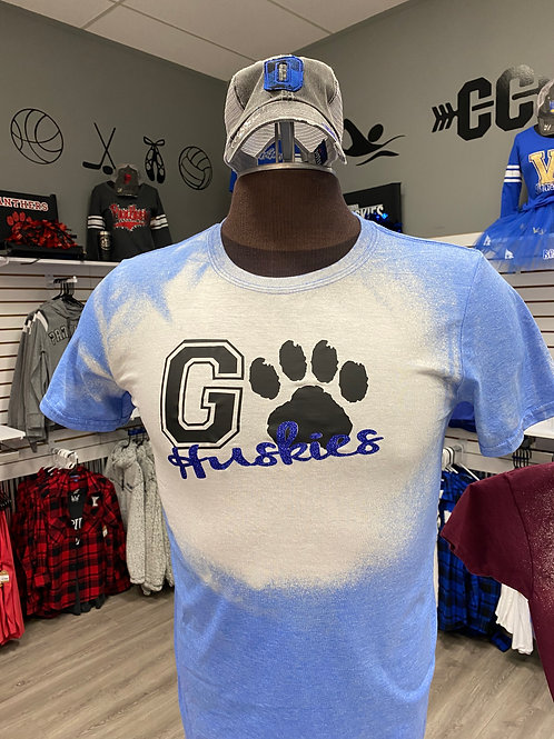 Go Huskies Bleach Shirt