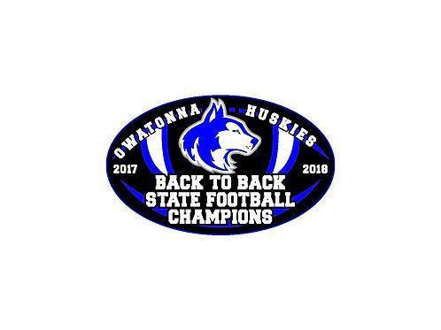 State Championship Bumper Sticker