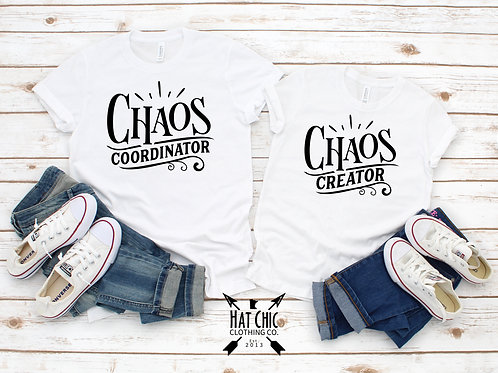 Chaos Mommy and Me Tees