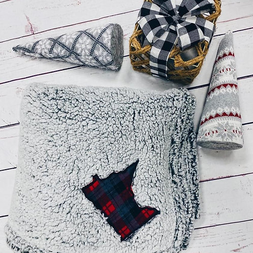 Sherpa Minnesota Blanket