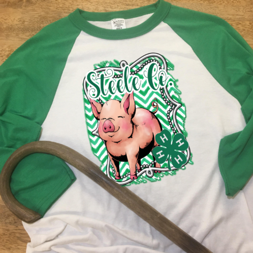 4H Sublimated Tee