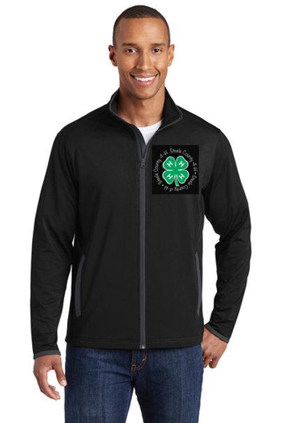 4H Men's Black Full Zip Jacket