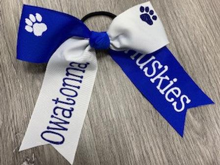 Owatonna Huskies Bow