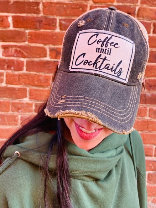Coffee and Cocktails Trucker Hat