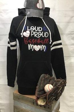 Loud and Proud Baseball Mom