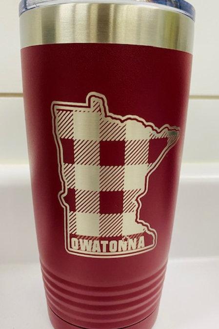 Owatonna MN Travel Mug