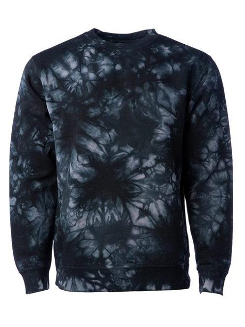 Tie Dyed Crew Neck Sweatshirt