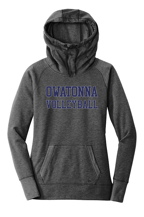 Volleyball Triblend Hooded Sweatshirt